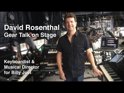 GearTalk mit David Rosenthal auf der Bühne