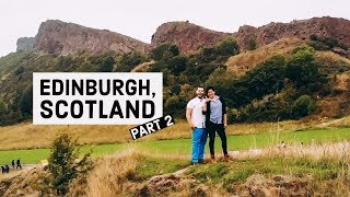 Gambar cover Drone Flying at Arthur's Seat + Airbnb Experience + Edinburgh Castle