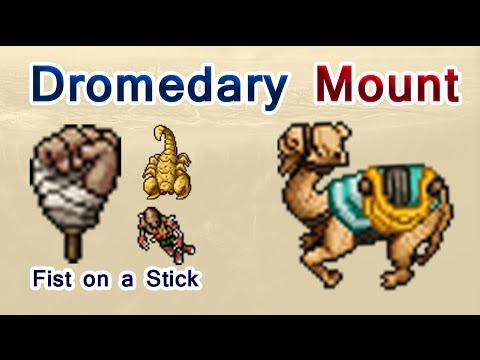 Tibia: Dromedary Mount ¿Cómo conseguirla?