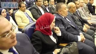 بالفيديو: توقيع اتفاقيه  بين بنك مصر وشركة القاهرة للاسثمارلتوريد المعدات لمدينة  الجلود الروبيكي