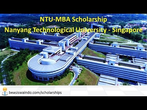 Singapore - Nanyang Technological University NTU MBA Scholarship