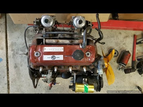 MGB B Series Engine - Re-sealing, Painting and Plating - Part 1