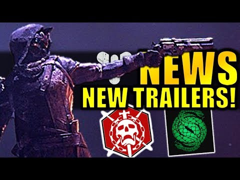 Destiny 2 News: NEW TRAILERS! - New Raid Launch Date! - More Exotic Buffs! thumbnail