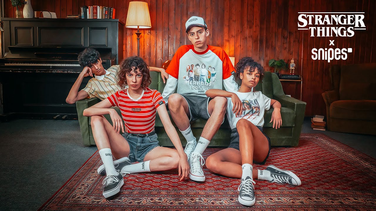 SNIPES x Stranger Things Apparel & Accessoires bei SNIPES