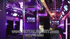 What a Party bus!!!! Only in NYC with Royal Luxury limo
