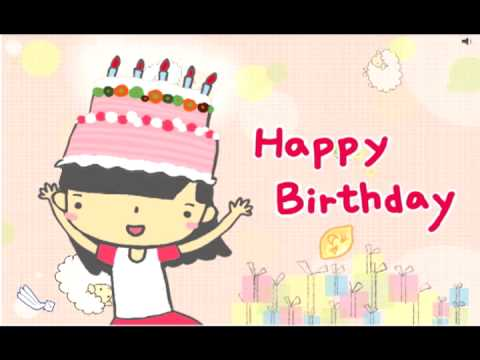 【免費電子賀卡_生日卡片】生日快樂_傳遞最溫暖的祝福happy birthday - YouTube