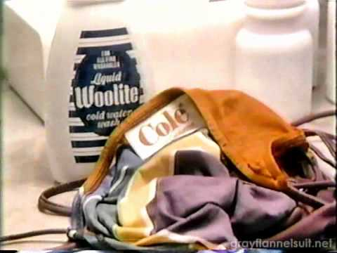 Woolite bathing suit TV commercial (1982)