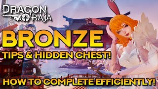 BRONZE HARD COMPLETE GUIDE! TIPS \u0026 HIDDEN CHEST | Dragon Raja