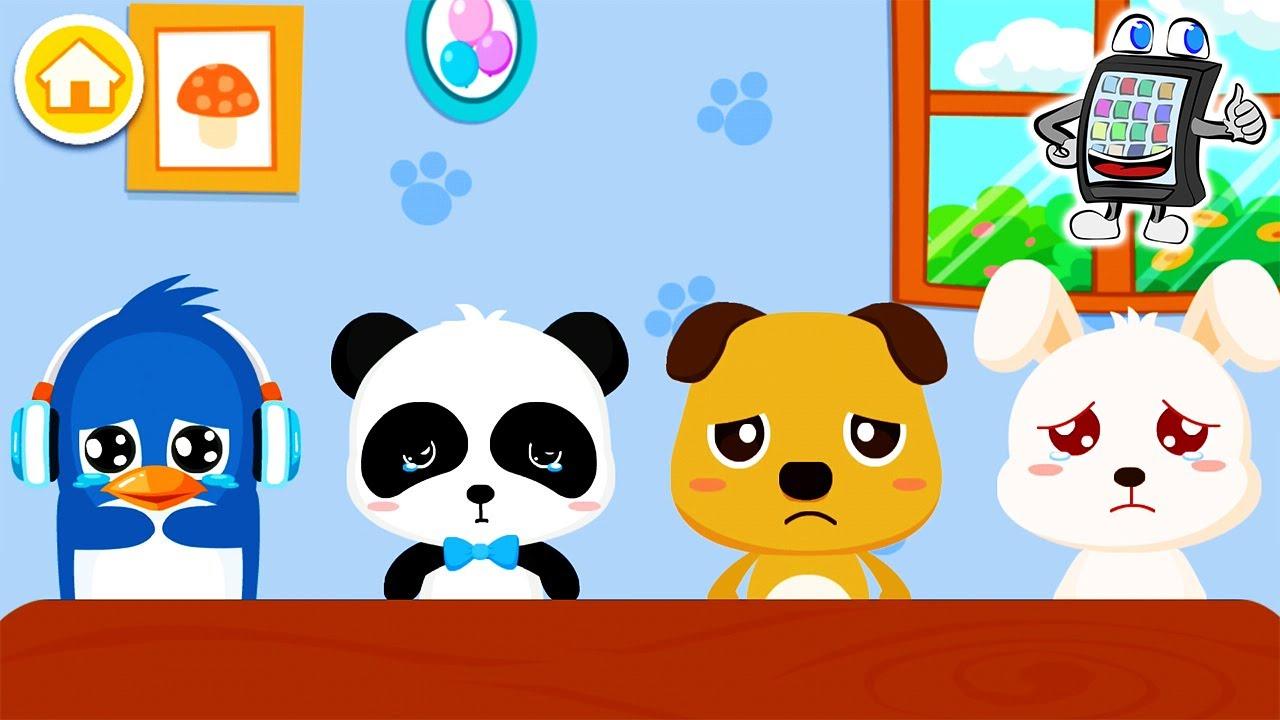 TRAURIGE BABYS bei BABY PANDA GEFÜHLE! Baby Bus App ...