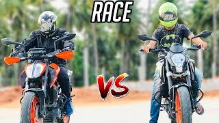 DRAG RACE - 2018 KTM Duke 390 vs Old Duke 390