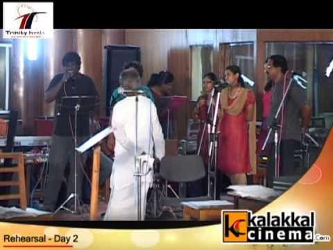 Ramya NSK on Engeyum Eppothum Raja Rehearsal Day 2