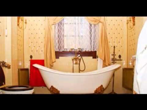 Cool Bathroom window curtains ideas