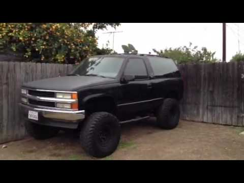 Chevy 2dr Tahoe Lifted For Sale Trade Youtube