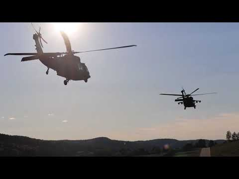 U.S. Army Soldiers Conduct An Air Assault