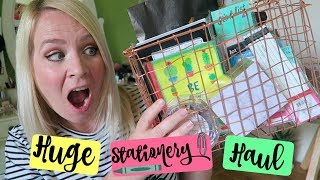STATIONERY HAUL JUNE 2017! Crap I Didn't Need. But Wanted