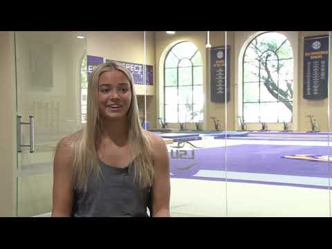 TikTok: Who is Olivia Dunne? Meet the LSU gymnast taking social ...