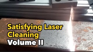 Curiously Satisfying Laser Cleaning Volume 2