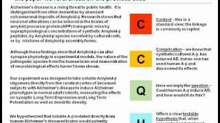 A 10-15 minute scientific presentation, Part 1: Introduction