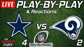 Cowboys vs Rams | Live Play-By-Play & Reactions