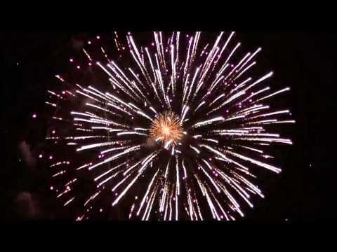Old Lyme CT Firework Show 2014