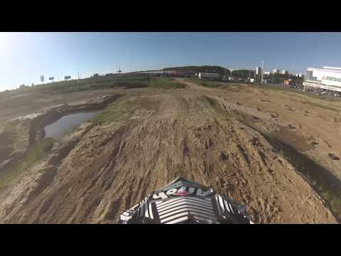 Prisma трасса - ATV тренировка YFZ450R