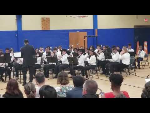 Matthew Henson Middle School Band Yakety Sax