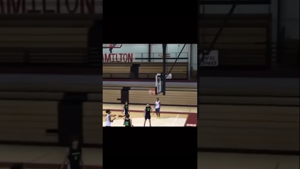 BIG kid shoots like Steph ?