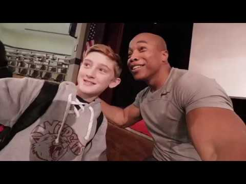 VLOG #19: Living life without legs. Stoneham Central Middle School & Stimson Middle School