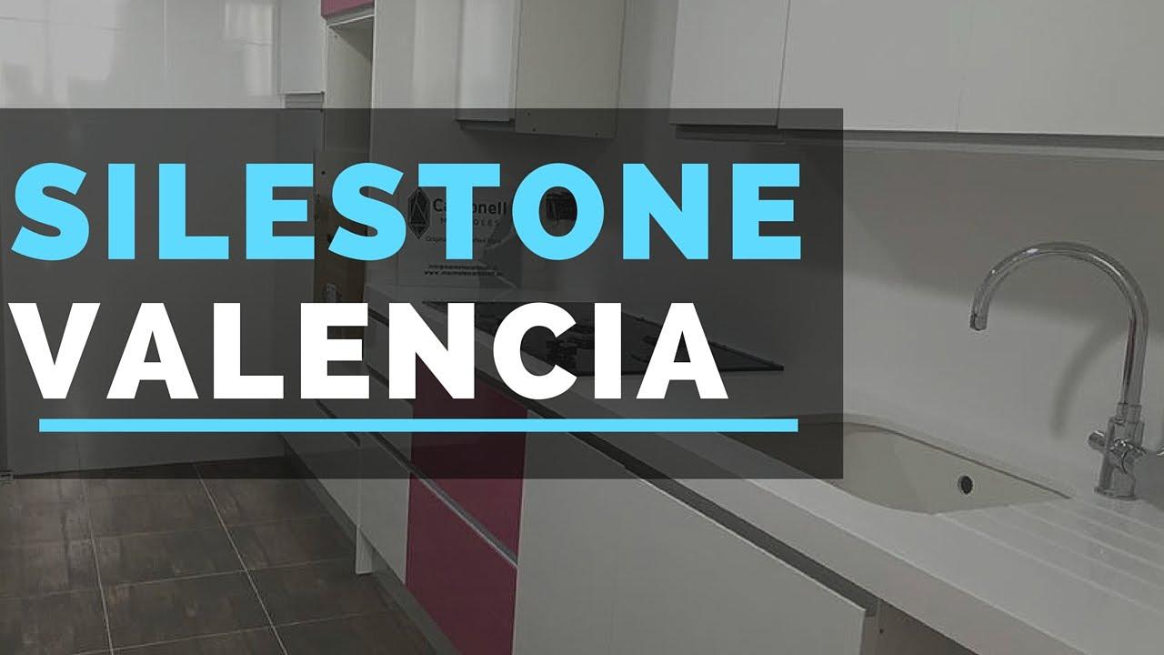Silestone valencia encimera de silestone blanco zeus marmoles y encimeras youtube - Marmoles valencia ...