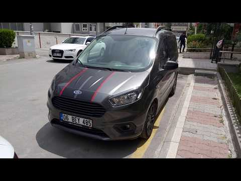 Ford Tourneo Courier Bakim Lambasini Sondurme Youtube