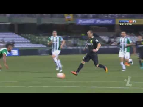 Download Gol de Miguel Borja - Coritiba 0 x 1 Atletico Nacional - Copa Sudamericana