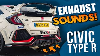 Honda Civic Type R FK8 Exhaust Sound Compilation! Which is your favorite?!