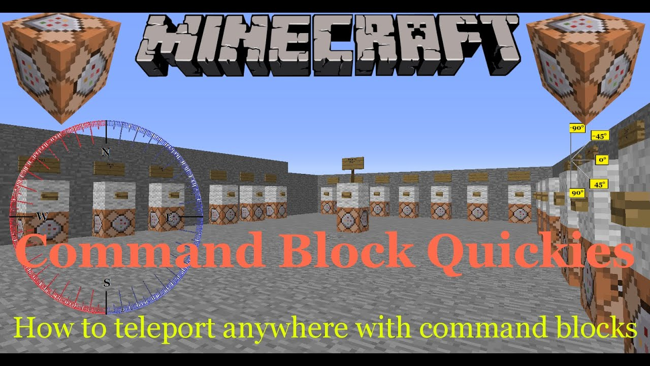 minecraft - Set facing direction using commands? - Arqade