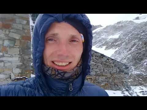 Climbing A 6088m Mountain Huayna Potosi.