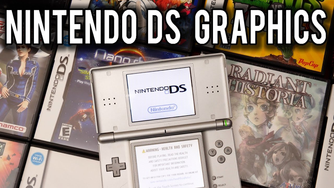 How Graphics worked on the Nintendo DS   MVG