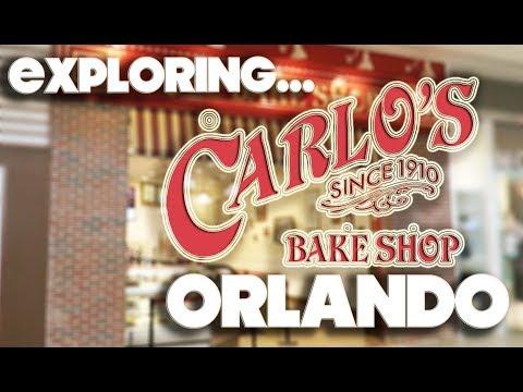 EXPLORING - CARLO'S BAKE SHOP - ORLANDO - FLORIDA MALL