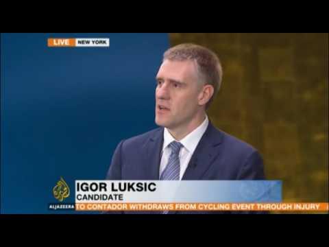 New York: UN Secretary General candidates live debate in partnership with Al Jazeera Media Network
