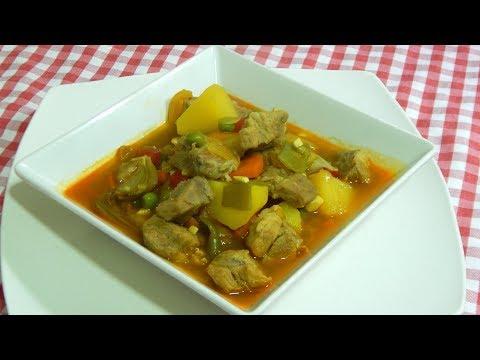 Receta de guiso de carne con verduras muy fácil, sabroso y económico