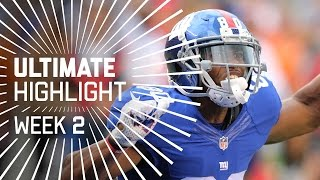 Victor Cruz's Clutch Catch Leads Giants to Victory!   Ultimate Highlight   NFL