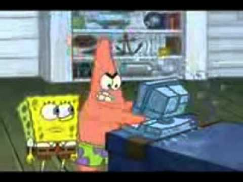 Patrick Smashes Computer While I Play Unfitting Music Remixed By