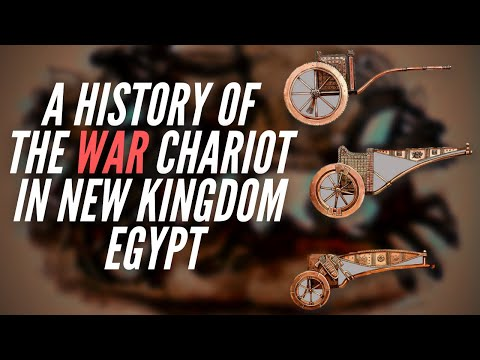 A History Of The War Chariot In New Kingdom Egypt