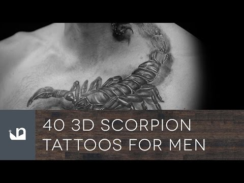 40 3D Scorpion Tattoos For Men