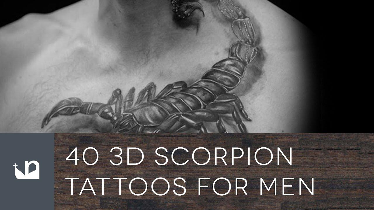 3d scorpion tattoo designs - 3d Scorpion Tattoo Designs 39