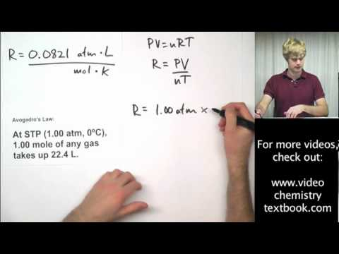 general chemistry ideal gas law
