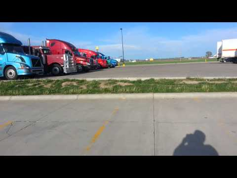 Lexington Nebraska Walmart parking for a SEMI TRUCKS