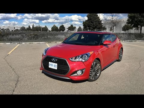 2016 Hyundai Veloster Turbo Review