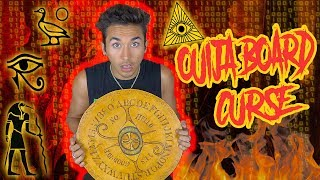 THE MEANING OF THE ANCIENT OUIJA BOARD WE FOUND *CURSED*