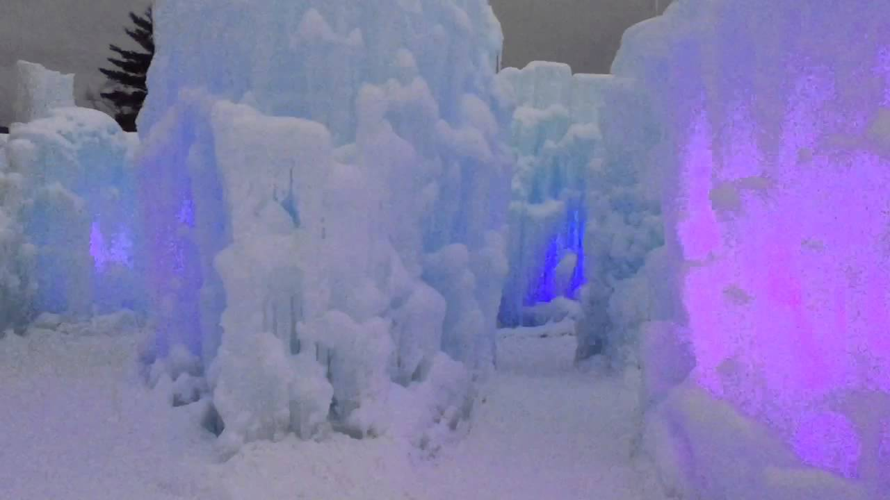 Ice Castles Lincoln Nh Exploring Nh Youtube