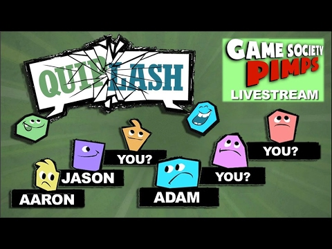 Quiplash - Play With Us, Pick Funniest Answers LIVESTREAM - Game Society