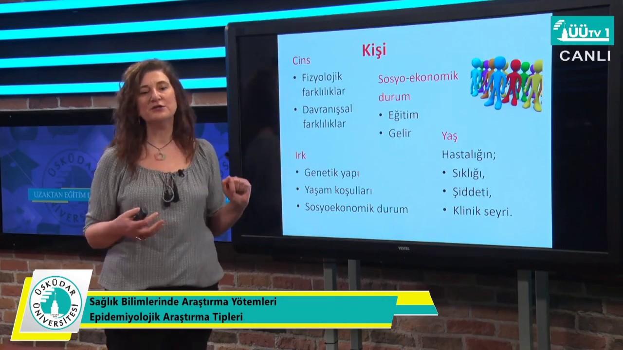 Download Sağlık Bilimleri Fakültesi Uzaktan Eğitim Dersleri - Epidemiyolojik Araştırma Yöntemleri